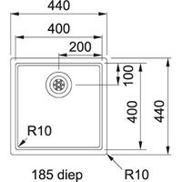 Franke BXX 211.40 turbo plug