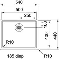 Franke BXX 210.50 Turbo plug