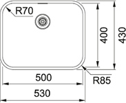 Franke BTX 210.50 Turbo plug