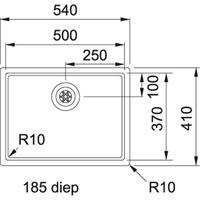 Franke BXX 210.50.37 Turbo Plug