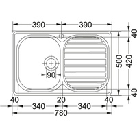 Franke CPX 211 Turo Plug